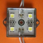 Модуль LED Module 4PCS SMD5050,35*35MM W:55-65LM,DC12V,White фото