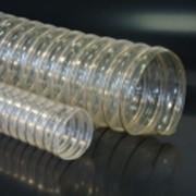 Шланг гофрированный для вентиляции, промышленных пылесосов PUR F-R д. 50-600 мм фото