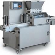 Трехбункерная машина для производства трехцветного песочного печенья Aladin 600 фото