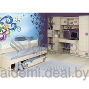 Кровать двухуровневая выдвижная Севилья/ Детская комната Севилья фото