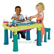 Стол детский + 2 стула (игрушка) CREATIVE TABLE фото