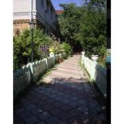 Плитка тротуарная от производителя в Броварах, бетонная плитка для дорожек фигурная, заказать облицовочную и тротуарную плитку, бордюр, водосток. фото