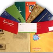 Полноцветная печать на конвертах фото