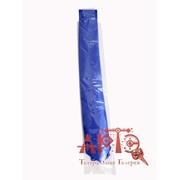 Галстук стильный ультрофиолетовый, синий фото