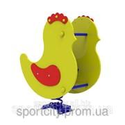 Качалка на пружине Цыпленок InterAtletika ТЕ204 фото