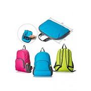 Рюкзак складной влагозащищенный (Синий) фото