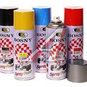 "Акриловая спрей-краска ""BOSNY"" аэрозольная краска фото"