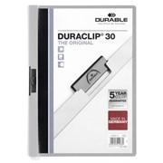 Папка Duraclip 30 с клипом из пружинной стали, А4 Серый фото