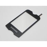 Тачскрин (сенсорное стекло) для Samsung S3370 black фото