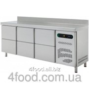 Стол холодильный с выдвижными шкафчиками Asber ETP-6-250-24 фото