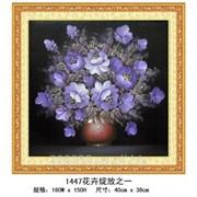 """Набор для рисования камнями """"Фиолетовый букет"""" 1447 фото"""