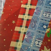 Бумага упаковочная Новогодние дизайны 2, 70х50см, 1 лист, WINTER WING фото