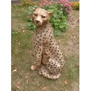 Гипсовая статуэтка Леопард фото