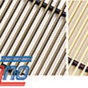 Рулонная решетка алюминиевая крашеная РРА 270-1300 фото