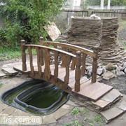 Декоративный мост фото