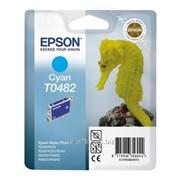Epson T0482 C13T04824010 голубой 51879 фото