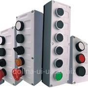 Пост кнопочний ПК-212/4 (4 пост.) IP-40 накл.пластик фото