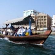 Прогулка по Дубайской бухте фото