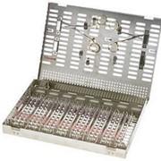 3-139126 Cassetes Thompson 26 232x330x30 Кассета Томпсона для хранения и стерилизации инструмента (на 26 шт) фото