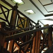 Лестница дизайн D070 фото