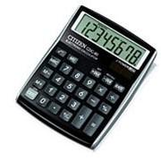 Калькулятор настольный 8 разрядный черный Citizen CDC 80BK WB фото