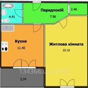 1-но комнатная квартира г. Черкассы фото