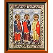 Икона Гурий Самон Авив, Малая аналойная фото
