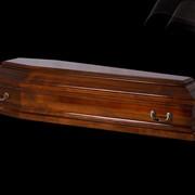 Гроб VIP, лакированый фото