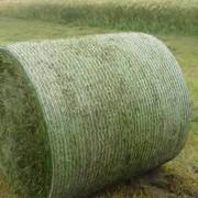 Сетка для обмотки рулонов сенажа, сена и соломы. Сетка для тюкования. фото