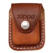 Чехол ZIPPO коричневый с клипсой LPCB фото
