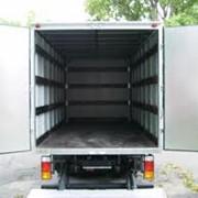 Установка отбойников, фурнитура на грузовые фургоны фото