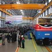 Ремонт железнодорожных локомотивов, двигателей и вагонов фото