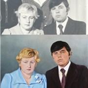 Восстанавливаем старые фото - рисуем портреты по ч фото