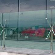 Ограждения из закаленного стекла фото