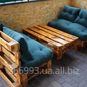 Мебель из поддонов на заказ фото