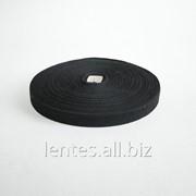 Лента киперная х/б черная (хакки) ЛКЭ-25чх-50 фото