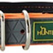 Ошейник биотановый мягкая горловина оранжевый неон 42-50см Hunter Convenience Comfort фото
