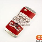 Накладка iPhone 5S MOSCHINO DRINK (силикон) №2 73058bj фото