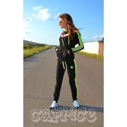 Спортивный костюм адидас 1042 (ас) неоновые полоски $