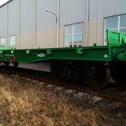 Вагон-платформа четырехосная модели 13-9840 фото