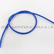 Бронепровод 5000mm синий, силикон DM фото