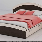 Кровать двухспальная с тумбочками фото