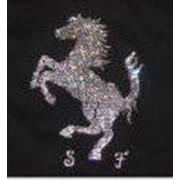 Инкрустация маек, футболок, кофт, кристаллами Swarovski ( Сваровски ) фото