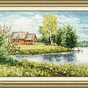 Набор для вышивания Домик у озера фото