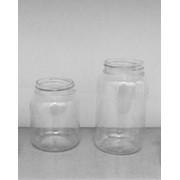 Пластик лабораторный: баночки (250гр, 350гр, 500гр, 250гр) в комплекте крышка фото