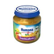 Пюре Humana 125г Фруктовое ассорти (с 6мес) фото