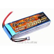 Аккумулятор Gens 3S1P 3300 мАч 11.1 В MAX 120C фото
