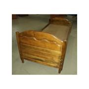 Кровать деревянная 1КД фото