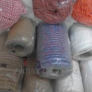 Шнур полипропиленовый плетеный диаметр 10мм 50м ШНПП2/6 фото