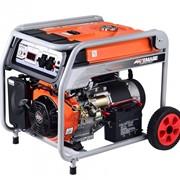 Генератор бензиновый TOR KM11000H 7,8кВт 220В 27л с кнопкой запуска и колесами фото